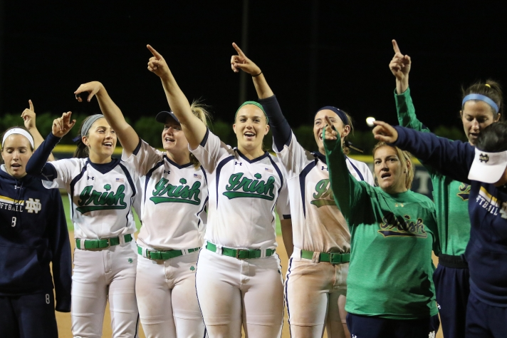 Notre Dame (softball) vs USSSA Pride Melissa Cook Stadium 9-27-2016